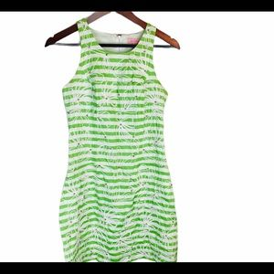 Lilly Pulitzer Embroidered Rhinestone Dress